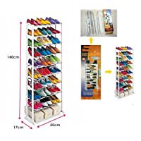 30 Pairs Standing Shoe Rack Stand by erolling by erolling