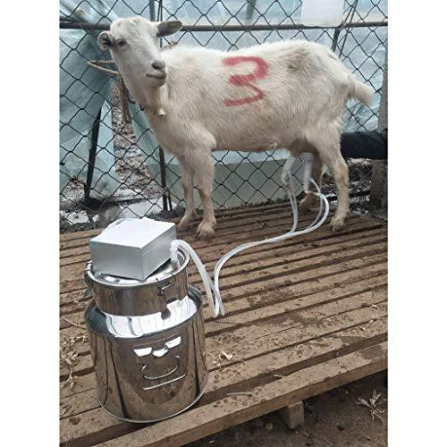 QIYINGYING Leche lechera ordeñadora ovejas con Dispositivo de ordeño Ganado hogar succión eléctrica Leche Cabra Dispositivo de ordeño Conveniente, práctico y Duradero