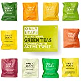 Onlyleaf Green Tea Sampler Box, 10 Tea Bags