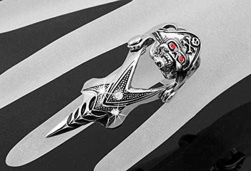 Skyllc® Piraten Dämon Spike Rüstung Rock Punk Gothic Statement Knöchel Finger Ringe