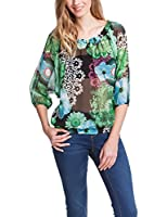 Desigual Merine - Blouse - Taille loose - Manches longues - Femme