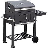 El Fuego reg, barbecue a carbonella Ontario, 115 cm x 107 cm x 67 cm, grigio