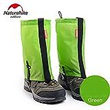 1Pair Bein Wandern Gaiters wasserdichte Outdoor-Klettern Jagd Trekking Schnee Legging Gamaschen Light Weight Silione NH15A060-M