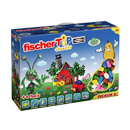 fischer TiP Premium Box XL, Bastelset,mit Spezialwerkzeug, für Kinder ab 5 Jahre - 516179
