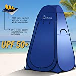 WolfWise Camping Toilet Tent Pop Up Shower Privacy Tent for Outdoor Changing Dressing Fishing Bathing Storage Room Tents…