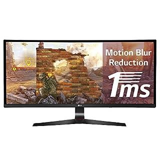 "LG 34UC79G Écran PC LED IPS GAMING 34"" - 2560 x 1080 - 144Hz - 5 ms - Noir (HDMI, Display Port, USB 3,0) (B01LN1ONI4) | Amazon Products"