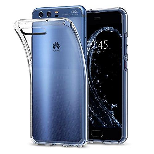 Cover Huawei P10, Spigen [Clear Ultra Sottile Silicone Gel] Liquid Crystal **Estremamente Sottile & Puro Trasparente** Premium TPU silicone case - Custodia Cover Huawei P10, Custodia P10, Huawei P10 Cover - (L13CS21505)