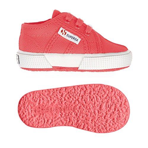 Superga 2750 Bebj Baby Classic, Low-Top Sneaker Unisex - bambino Paradise Pink