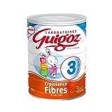 GUIGOZ 3 Croissance Fibres - Lait de croissance en poudre de 1 à 3 ans - 800g - Pack de 6