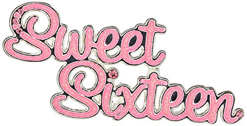 Lillian Rose Sweet Sixteen Pin, 2.5-inch