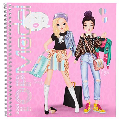 Depesche 10452 - Libro Adesivo TOPModel Dress Me Up, Multicolore