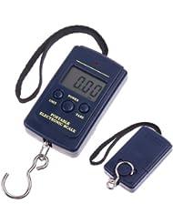 TIMETOP - Báscula digital portátil con gancho para pesca, 20 g, 40 kg