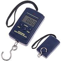 TIMETOP - Báscula digital portátil con gancho para pesca, ...
