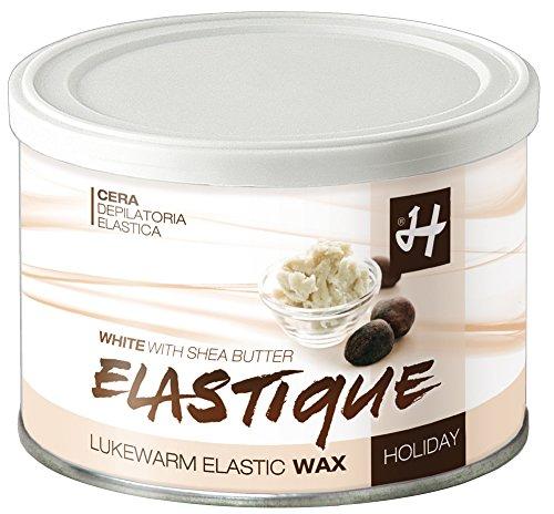 Enthaarungs-, Filmwachs Elastique mit Sheabutter 400 ml Dose, Enthaarung ohne Vliesstreifen