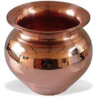 Drinkware Accessories Handmade Copper Lota Kalash by DakshCraft