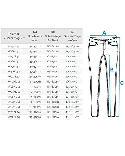 Cipo Baxx Sexy Damen Jeans Stretch Röhre Hose Slim Stright Fit Skinny Hüftjeans Casual verschiedene Varianten Styles Modell-12