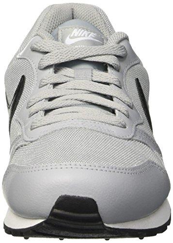 Nike Jungen Md Runner 2 (Gs) Gymnastik Grigio (Wolf Grey/Blk-Ttl Crmsn-White)
