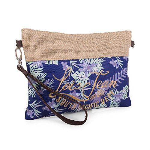 LOIS - Beauty case di tela Bora Bora Marino