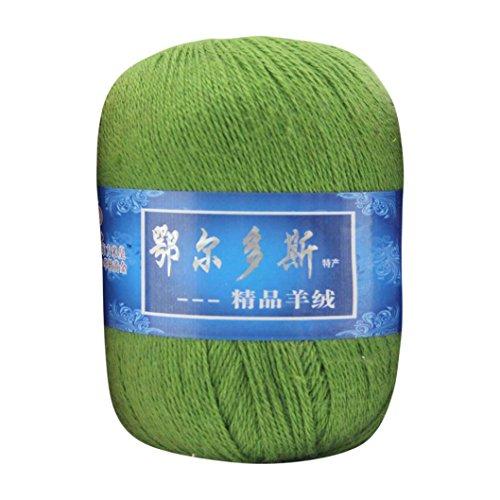 squarex 1Soft Kaschmir Garn Wollüberzug aus Mongolisches aus Wolle DIY Weave Gewinde, h, Multicolor (Mongolischen Kaschmir-garn)