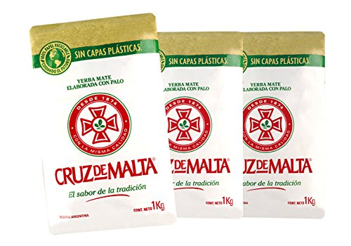 yerba-cruz-de-malta-the-mate-argentin-avec-des-tige-paquete-economique-3-x-1kg