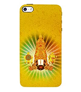 Tirumala Ananta 3D Hard Polycarbonate Designer Back Case Cover for Apple iPhone SE