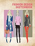 Fashion Design Sketchbook: Women figure sketch different posed template will easily create your fashion styles (Fashion Sketch)