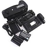 DSTE MB-D17 Poignée Batterie + 2x EN-EL15 Batterie + USB Chargeur pour Nikon D500