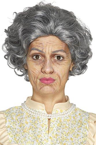 SMIFFY 'S 46996Old Age Make-up-Set, mehrfarbig, one - Eine Seite-gesicht Halloween-make-up