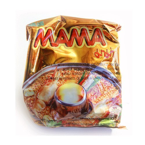 Mama Shrimp Creamy Tom Yum Noodle - 30 Packets