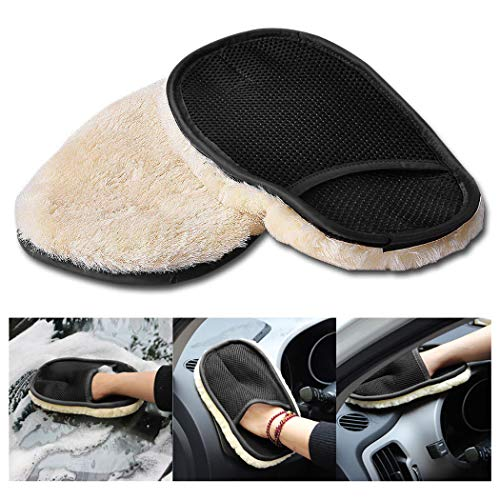 Preisvergleich Produktbild Fansport Car Cleaning Glove Waschhandschuh Putztuch FüR Den Haushalt