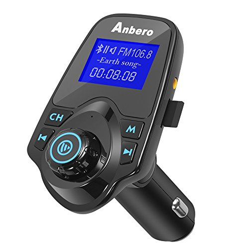 34429904d7b30 Preiswert Anbero FM Transmitter Bluetooth Auto Adapter ...