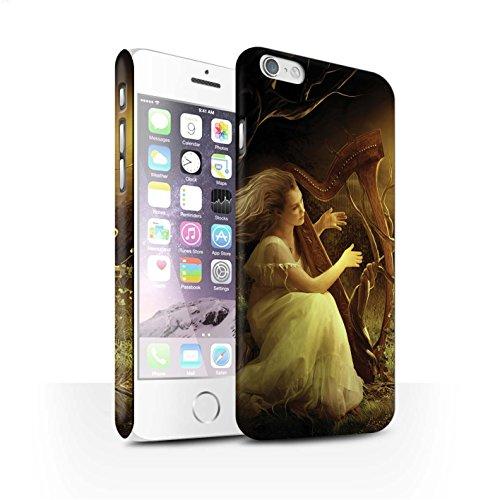 Officiel Elena Dudina Coque / Clipser Matte Etui pour Apple iPhone 6S / Mélodie du Silence Design / Réconfort Musique Collection Mélodie du Silence