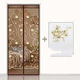 die tür Fliegengitter für Türen, sommer - fenster - schlafzimmer mücke vorhang-F-100x200cm(39x79inch)