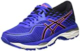 ASICS Damen Gel-Cumulus 19 Laufschuhe, Blau (Blue Purple/Black/Flash Coral), 39.5 EU