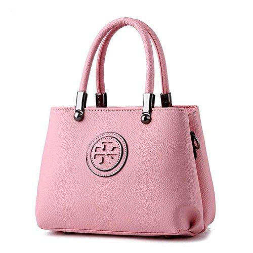 HQYSS Damen-handtaschen Koreanische PU-Leder Cross Body Frauen Schulter Messenger Tasche , pink (Tommy Hilfiger Tasche Pink)