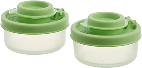 Signoraware Nano Small Spice Shaker Set, Set of 2, Parrot Green