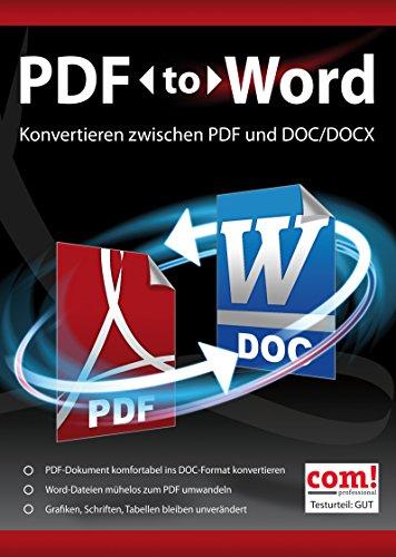 MARKT + TECHNIK PDF to Word (Reader-software Pc Für)