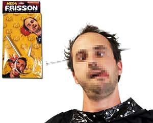 Serre tête faux clou style Frankenstein - Deguisement Halloween - Farce et attrape