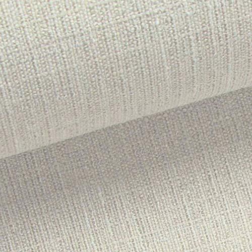 NOVELY® ROSENAU - dezenter & schlicht gehaltener Möbelstoff in Baumwoll-Optik (06 Beige Hell)