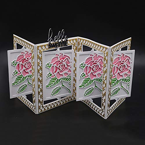 IlummW - Plantilla troquelado metal diseño flores