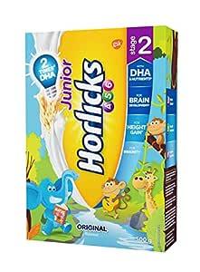 Horlicks Junior Stage 2 Health and Nutrition Drink - 500g (Original flavor)