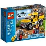 Lego City - 4200 - Jeu de Construction - Le 4 x 4 de la Mine