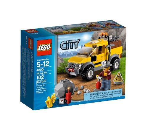 LEGO City Mining 4200 - Fuoristrada da miniera 4x4