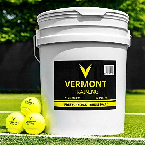 Vermont Cubo Pelota Tenis Entrenamiento presión Pelotas