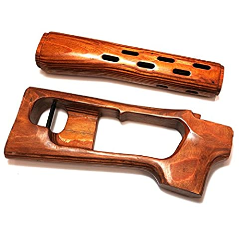 Airsoft Wargame Tactical Shooting Gear SVD Wood Kit for A&K SVD (Air Cocking)