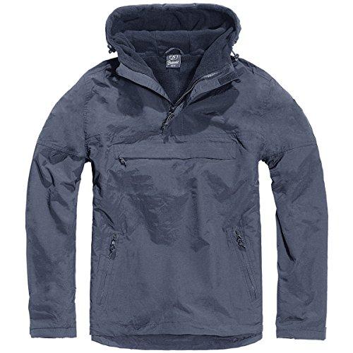 Brandit Uomo Giacca a Vento Navy Blu size XXL