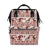 coosun African Style Wickeltasche Rucksack, großes Fassungsvermögen muti-function Reise Rucksack