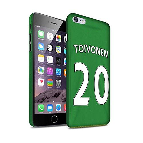 Officiel Sunderland AFC Coque / Clipser Matte Etui pour Apple iPhone 6S+/Plus / Pack 24pcs Design / SAFC Maillot Extérieur 15/16 Collection Toivonen