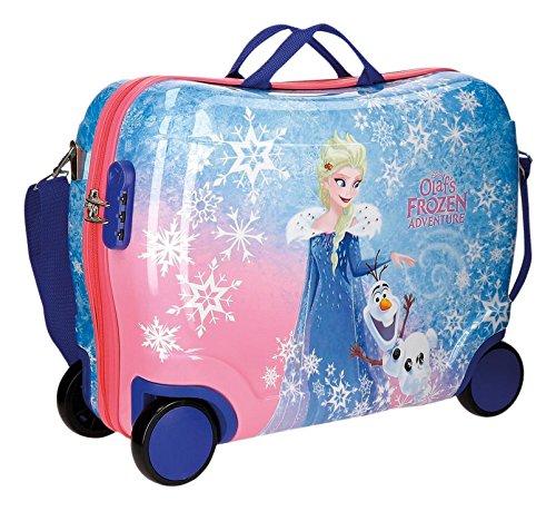Disney Olafs Frozen Adventure Equipaje Infantil, 50 cm, 34 Litros, Mul