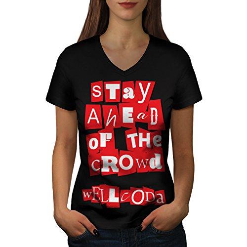 just-be-different-human-origin-women-new-black-l-v-neck-t-shirt-wellcoda